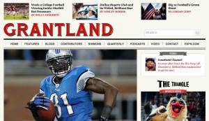 Grantland home page