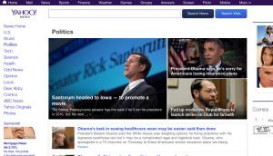 Yahoo News politics