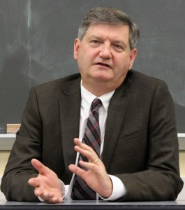 New York Times reporter James Risen. Credit: Gabrielle Kratsas.