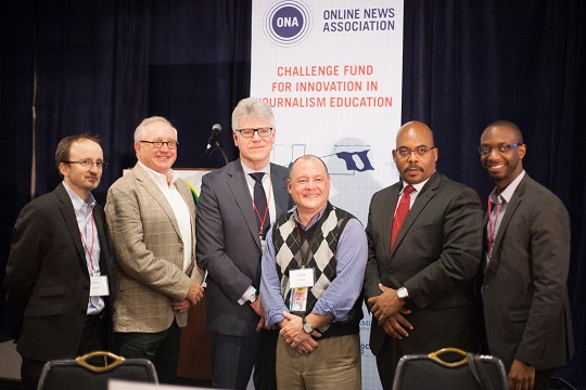 Challenge Fund awards ceremony at JiConf 2014.
