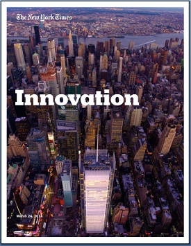 "The  96-page New York Times ""Innovation Report""  documents the newspaper's struggle to adapt to the era of digital news."