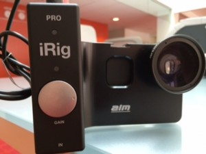 The iRig pre-amp markedly improves sound quality, but also adds bulk to a mobile news-gathering kit.