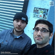 Tim Pool and Drake Martinet of Vice News