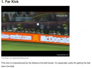 The Onion's Clickhole.com educates the casual World Cup viewer on kicks. Screenshot from Clickhole.com