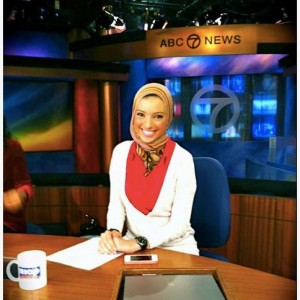 Broadcast journalist and motivational speaker Noor Tagouri, in a picture she posted on Facebook in October of 2012.