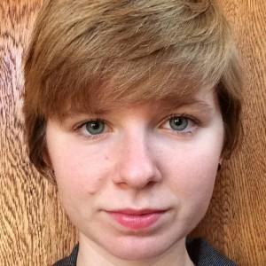 Student activist Isabelle Geczy.