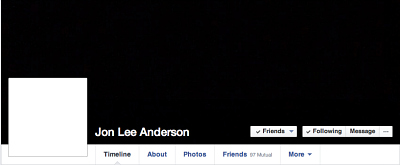 Jon Lee Anderson Facebook page