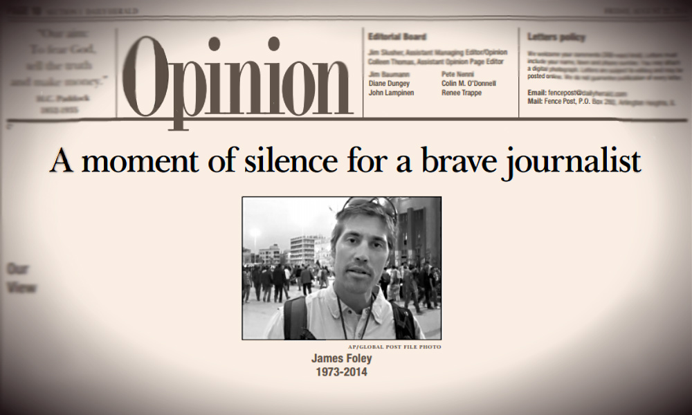 James Foley tribute page