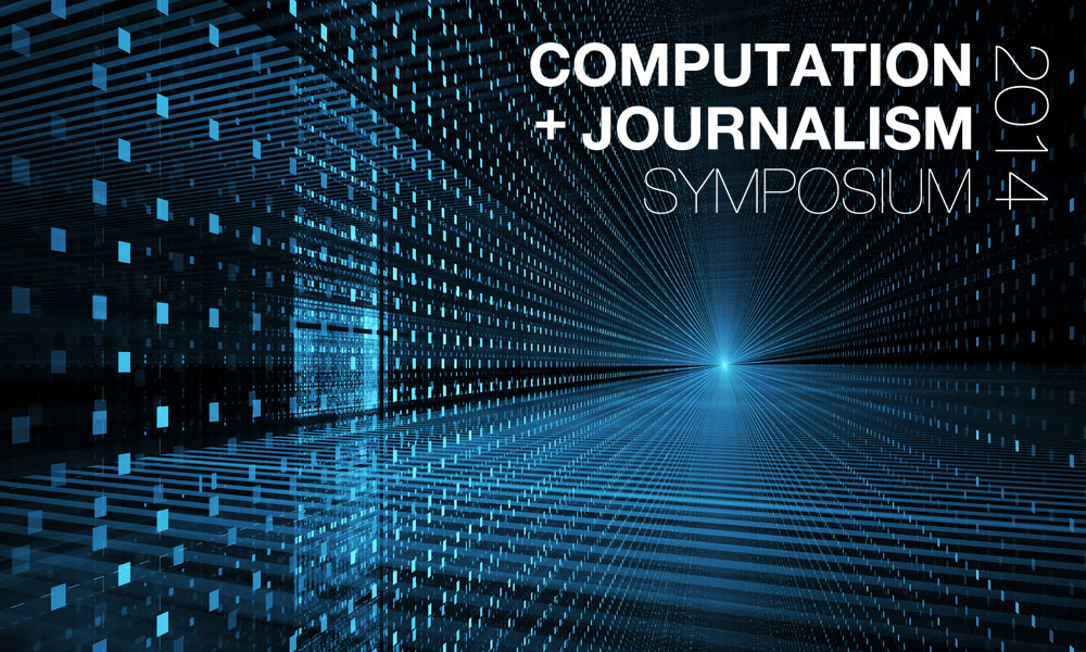 Where Journalism Meets Computer Science Charting A New