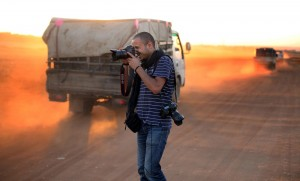 Ahmed Deeb, freelance photographer.