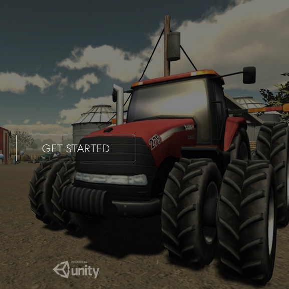 Screenshot from The Des Moines Register's Virtual Reality experiment that told the story of one Iowa farm.