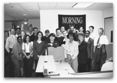 Morning Edition staff of old
