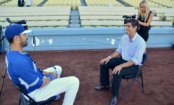 Interview with Andre Ethier.