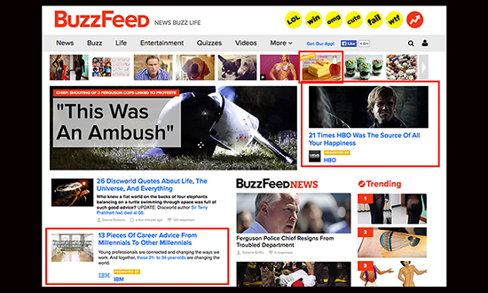 Buzzfeed without ads