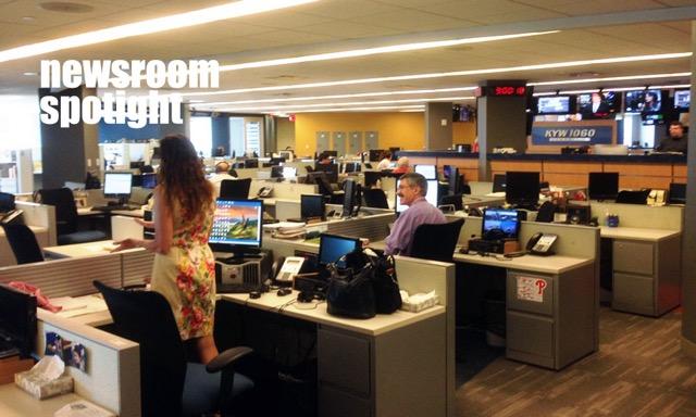 KYW newsroom